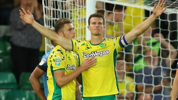 Carabao Cup: Norwich City beat Stevenage 3-1 to move into round two