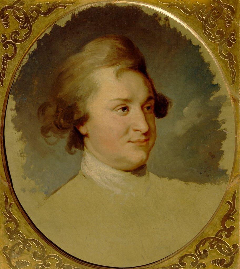 Retrato del estadista Grigori A. Potyomkin (1739-1791) encontrado en la colección de la Galería Estatal Tretyakov, Moscú. Artista: Lampi, Johann-Baptist von, el Viejo (1751-1830).