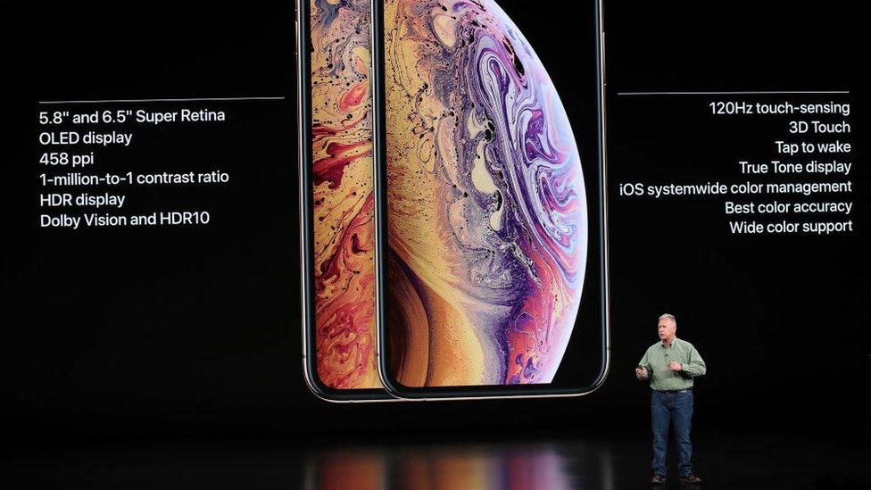 Presentación del iPhone XS