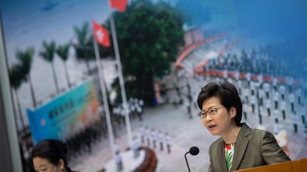 林鄭月娥表明,投票率高低不是選舉成不成功的指標。
