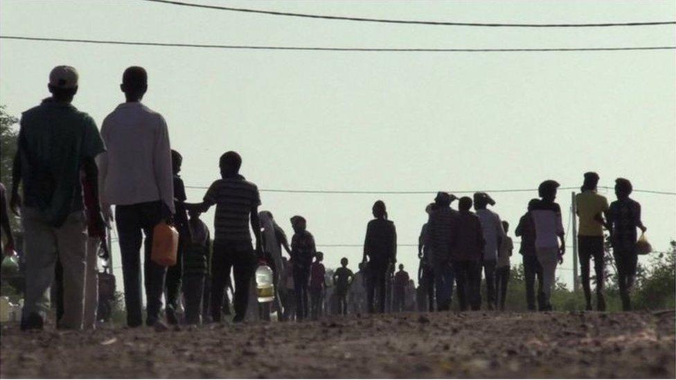 آلاف اللاجئين عبروا الحدود من إثيوبيا إلى السودان