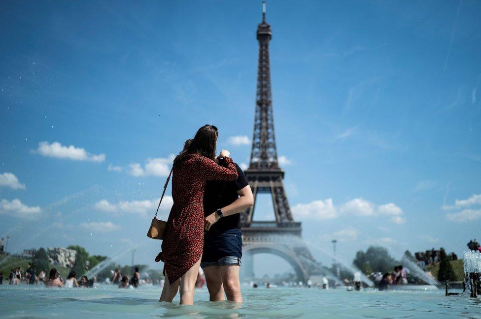 Francuska, par se ljubi