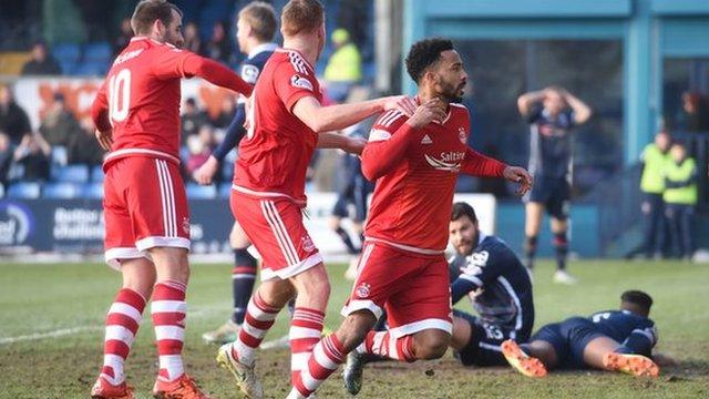 Highlights - Ross County 2-3 Aberdeen