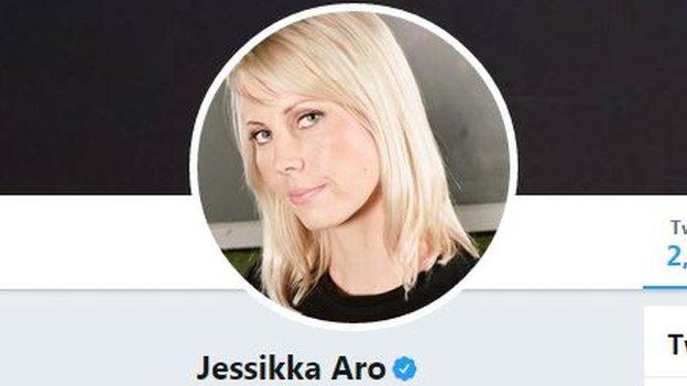 Jessikka Aro twitter