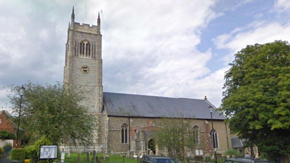 All Saints Church, Laxfield