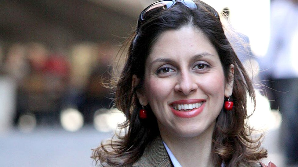 Portrait photo of Nazanin Zaghari-Ratcliffe