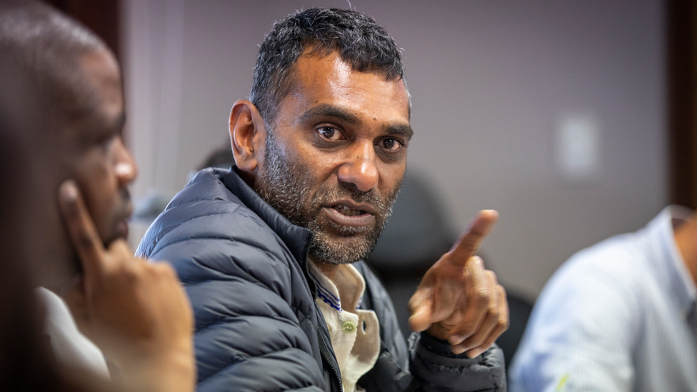 Amnesty International's secretary-general Kumi Naidoo ordered the restructure