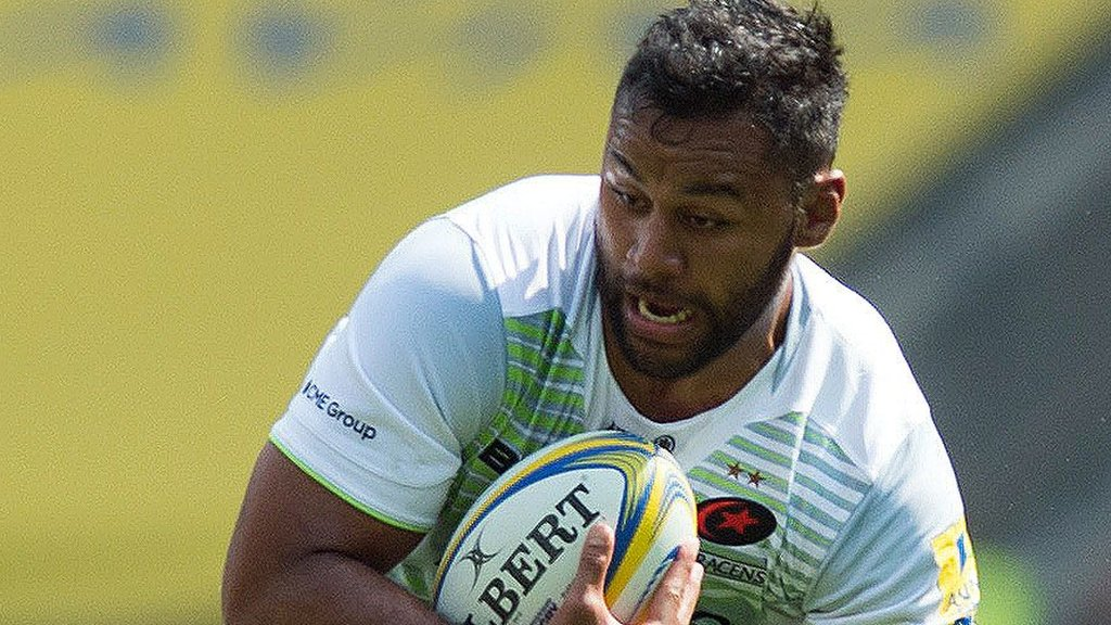 Billy Vunipola: Saracens boss says England back-row did not train before final