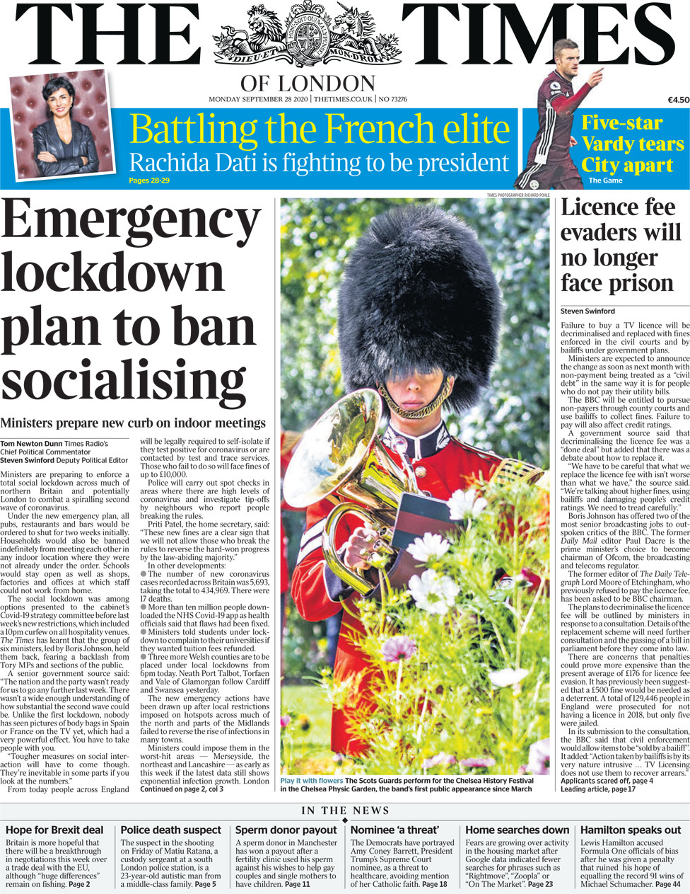 The Times 28 Sep