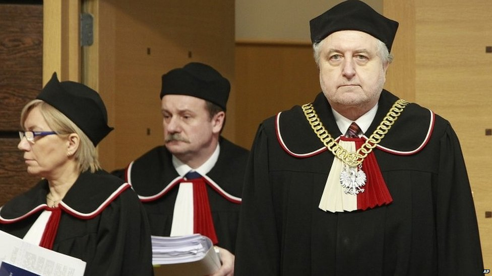 Poland's Constitutional Court clashes with new government - BBC News