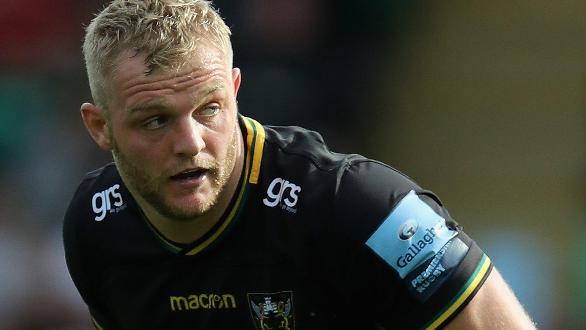 Mike Haywood: Northampton Saints hooker suffers 'significant' knee injury