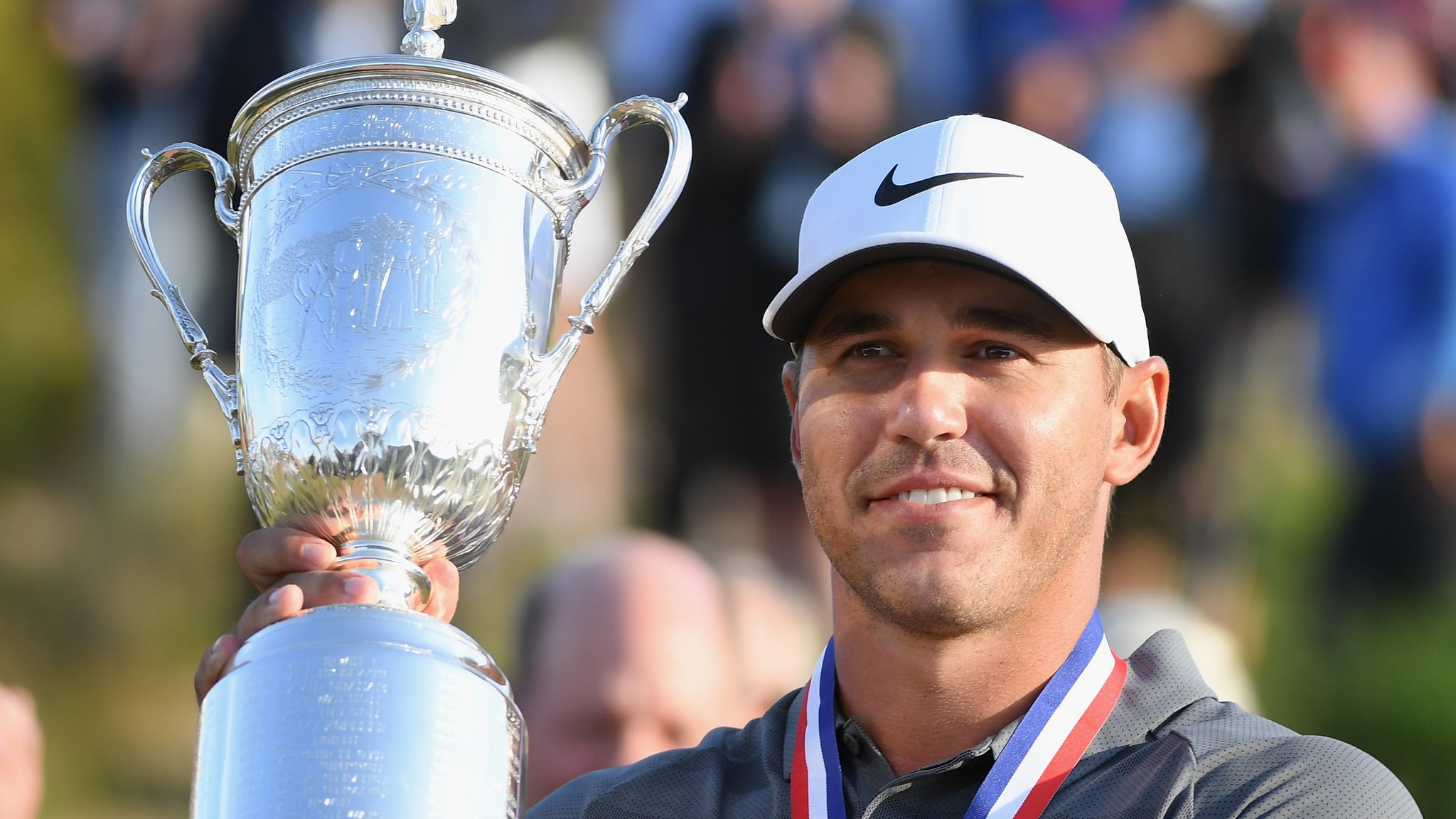 US Open: Brooks Koepka beats Tommy Fleetwood at Shinnecock Hills