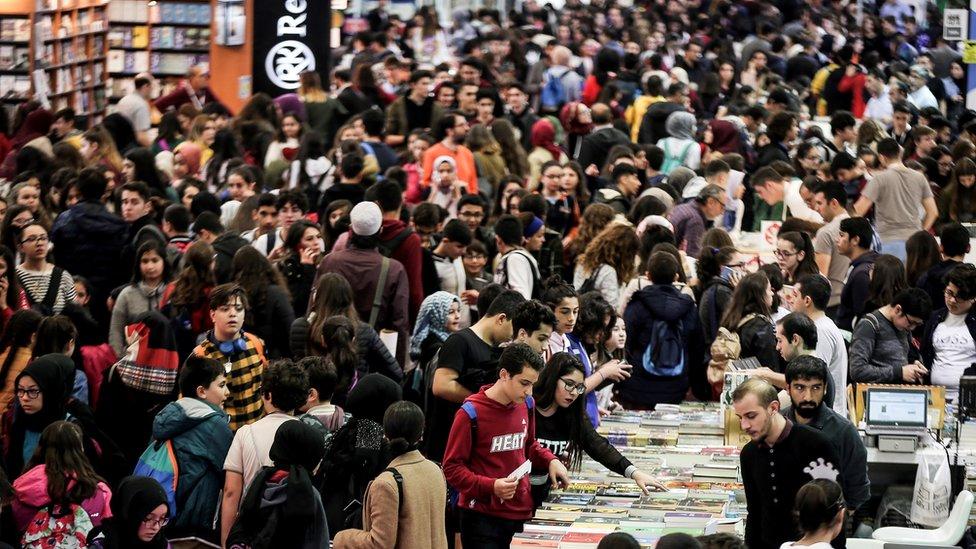 Kasım 2018'de düzenlen İstanbul Kitap Fuarı'na ilgi yoğundu
