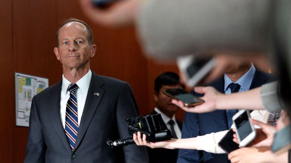 El subsecretario de Estado de Estados Unidos, David Stilwell.