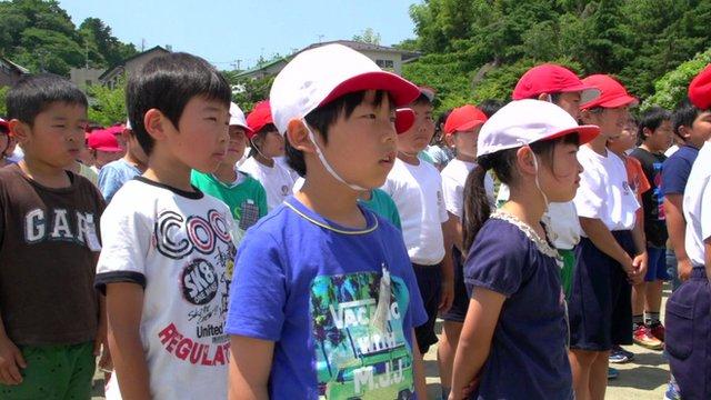 children in a playground in Japan