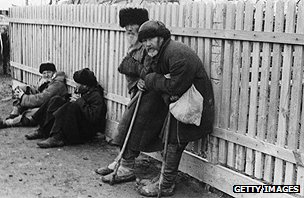 Victims of famine near Kiev