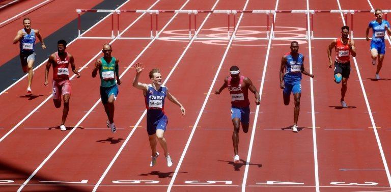 La final de los 400m con vallas en Tokyo 2020