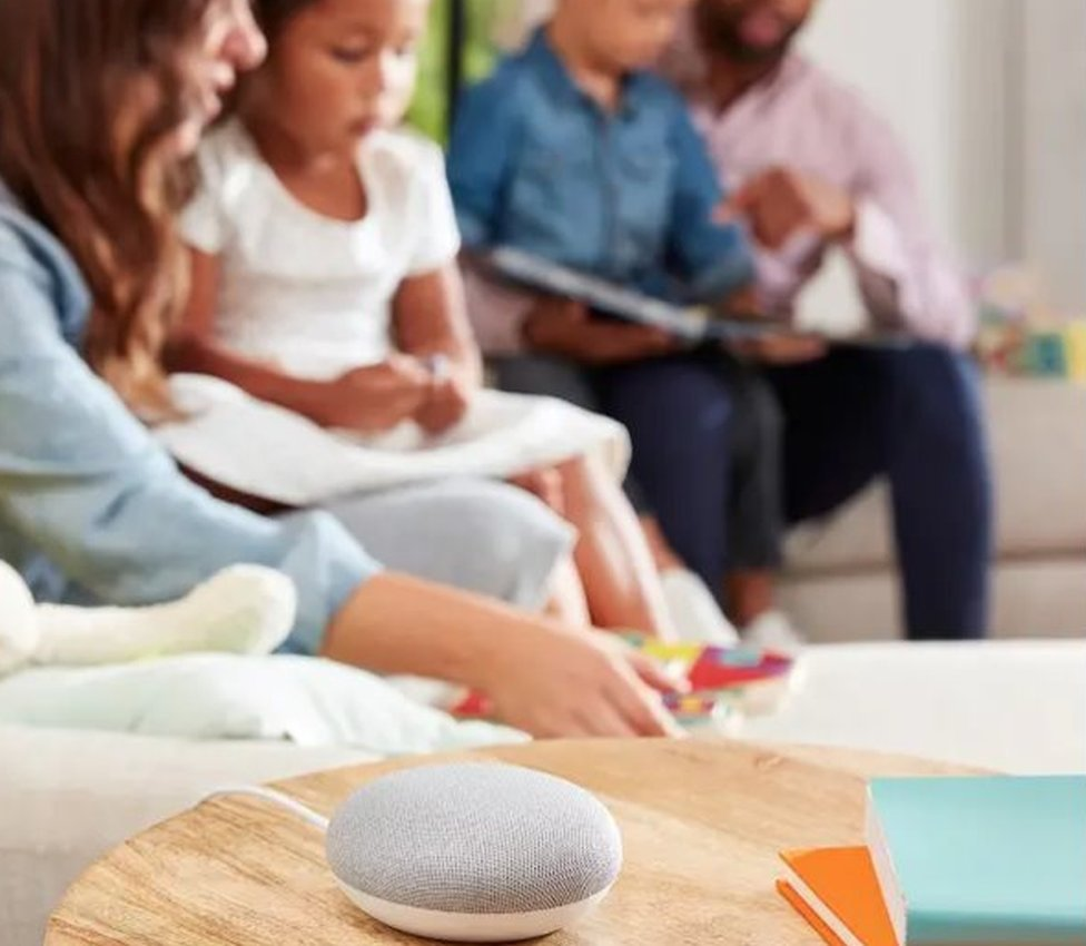 Google Home is marketed as a family device