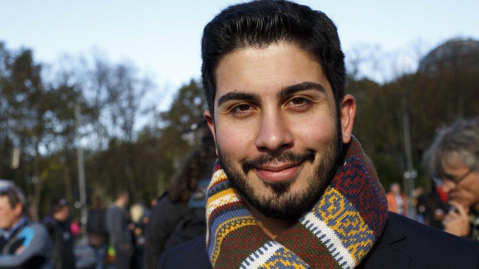 Anti-racism activist Ali Can, 22 Oct 17