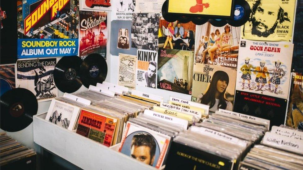 A record shop