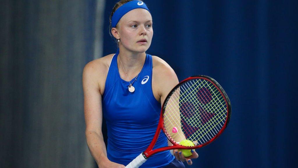 Britain's Harriet Dart loses last 16 match at Nottingham
