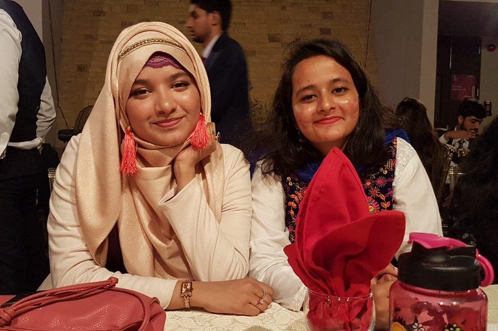 Rashida and Rumisa
