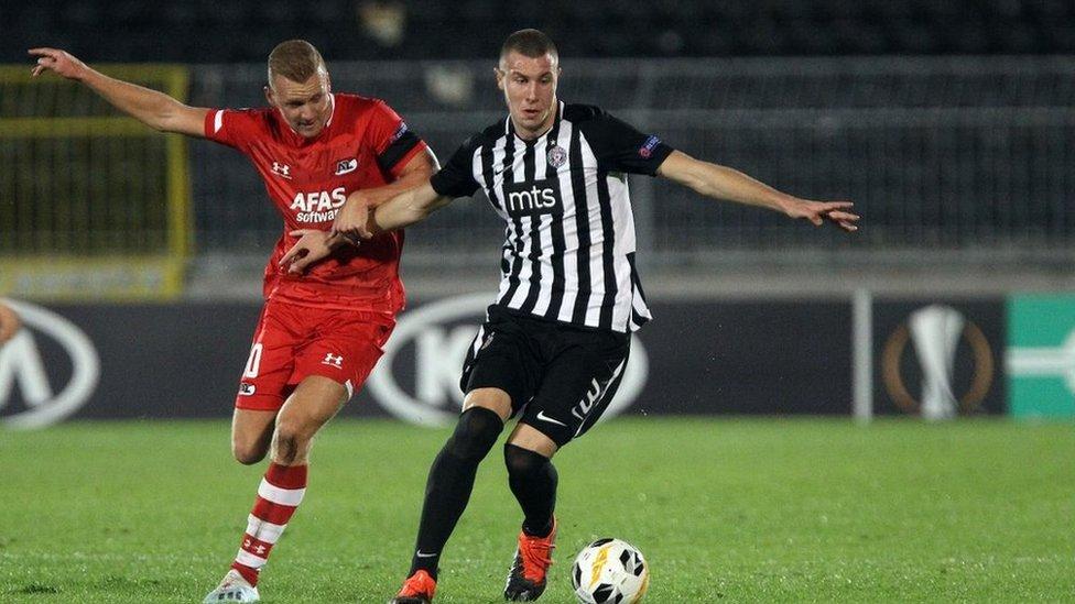 Partizan je pre dve nedelje remijem protiv holandskog AZ Alkmara ostao bez nade za evropsko proleće
