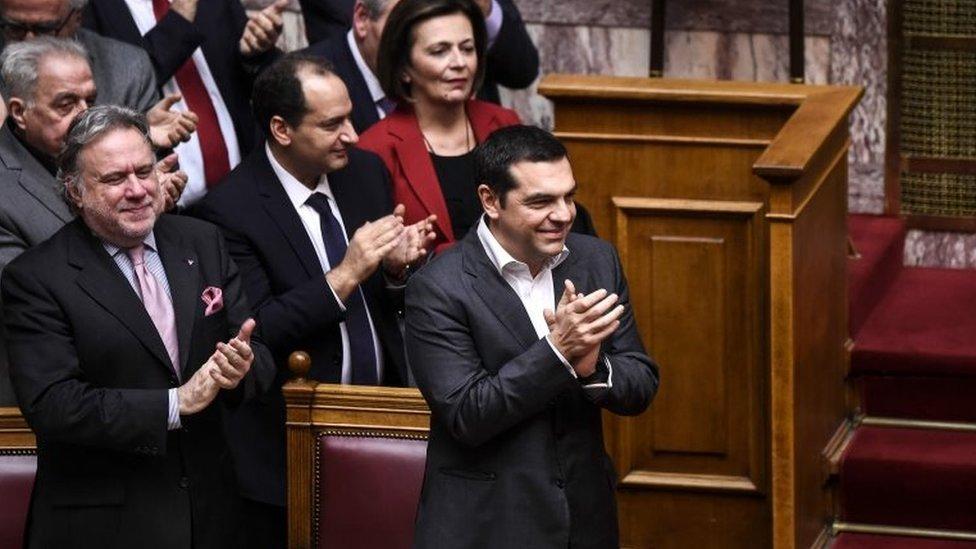 Cipras slavi posle glasanja