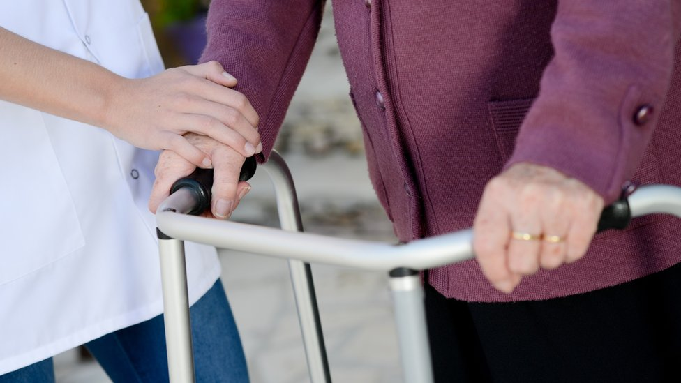 Care workers 'exhausted' by staff shortage