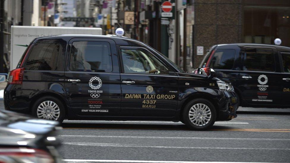Taxi Tokyo.