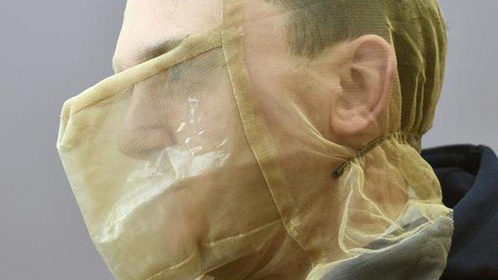 A spit hood