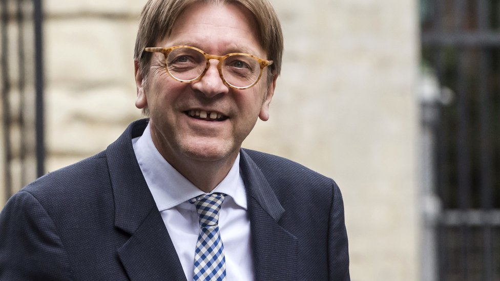 European Parliament's lead negotiator on Brexit, Guy Verhofstadt