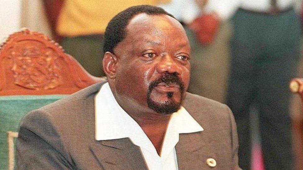 Unita leader Jonas Savimbi