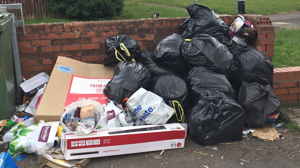 Waste collectors given 'significant' fines