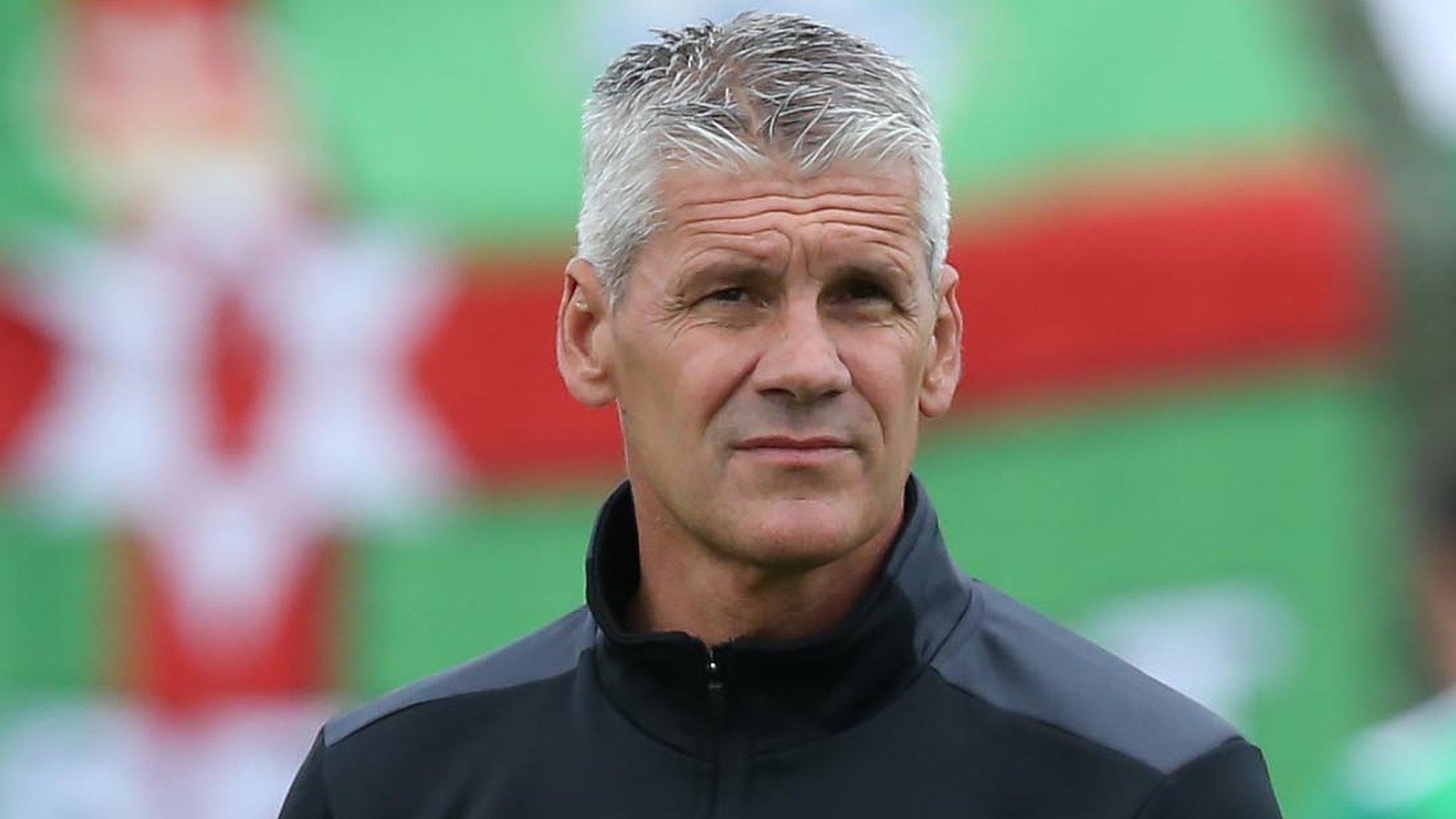 Irish Premiership: Gary Smyth parts company with Glentoran
