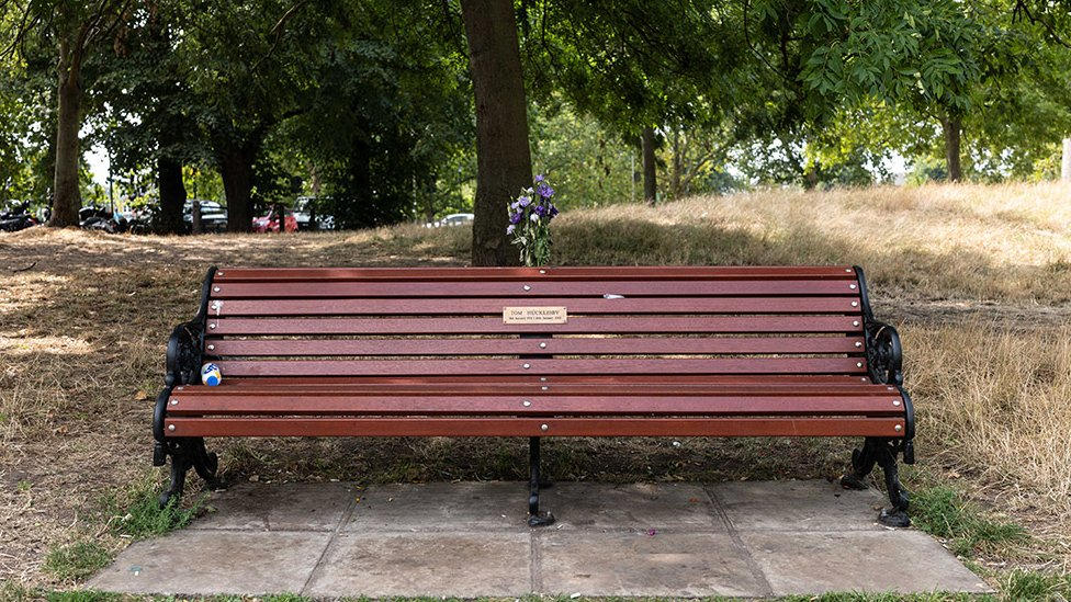Tom's bench