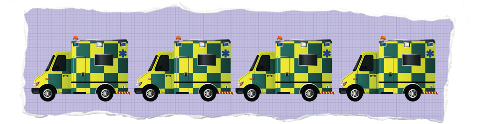Ambulance illustration