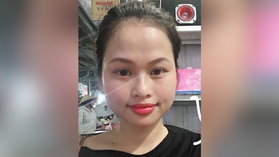 La joven Pham Thi Ngoc Oanh.