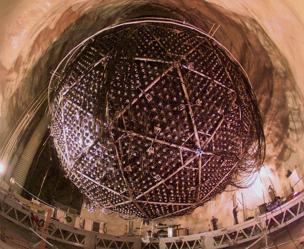 Outer shell of the Sudbury neutrino detector