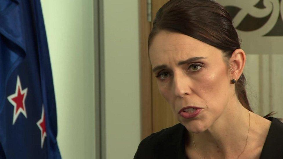 Džasinda Ardern u razgovoru za BBC