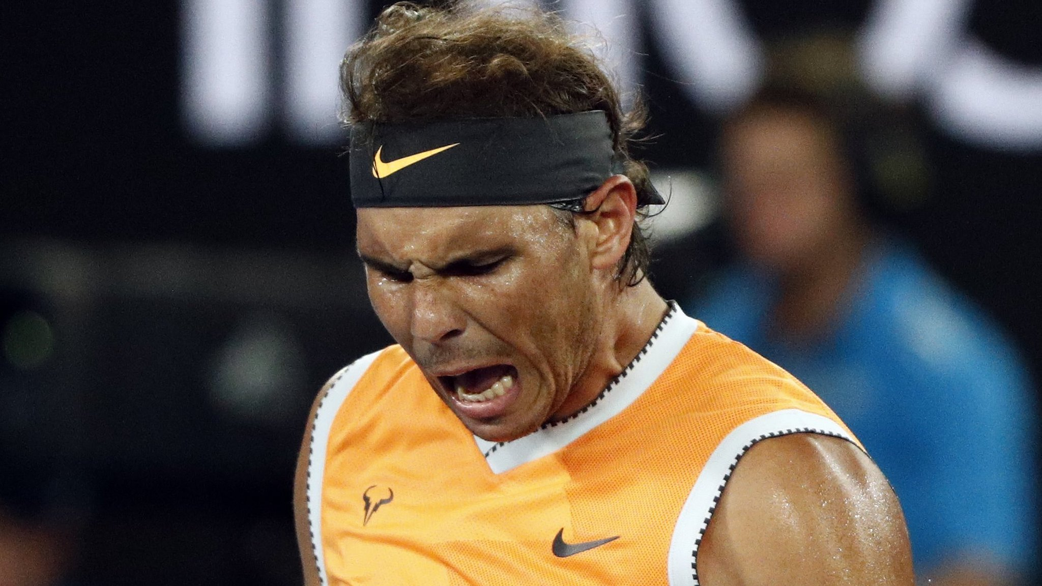 Australian Open: Rafael Nadal beats Matthew Ebden to reach third round