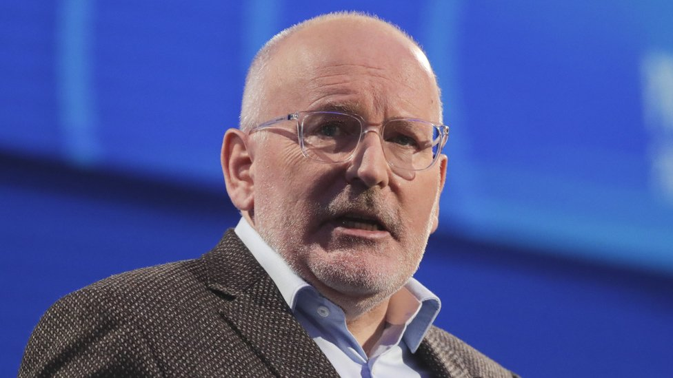 Frans Timmermans, European Commission Vice-President and top candidate of the Party of European Socialists (PES) for Commission President