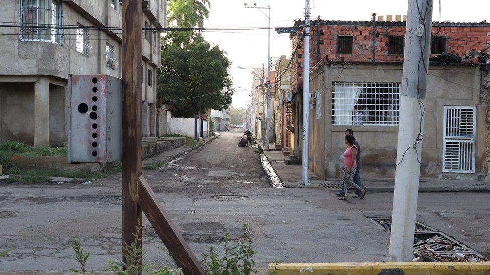 Puerto La Cruz.
