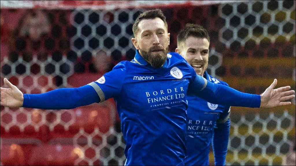 Queens of the South's Stephen Dobbie could return to aid battle against relegation