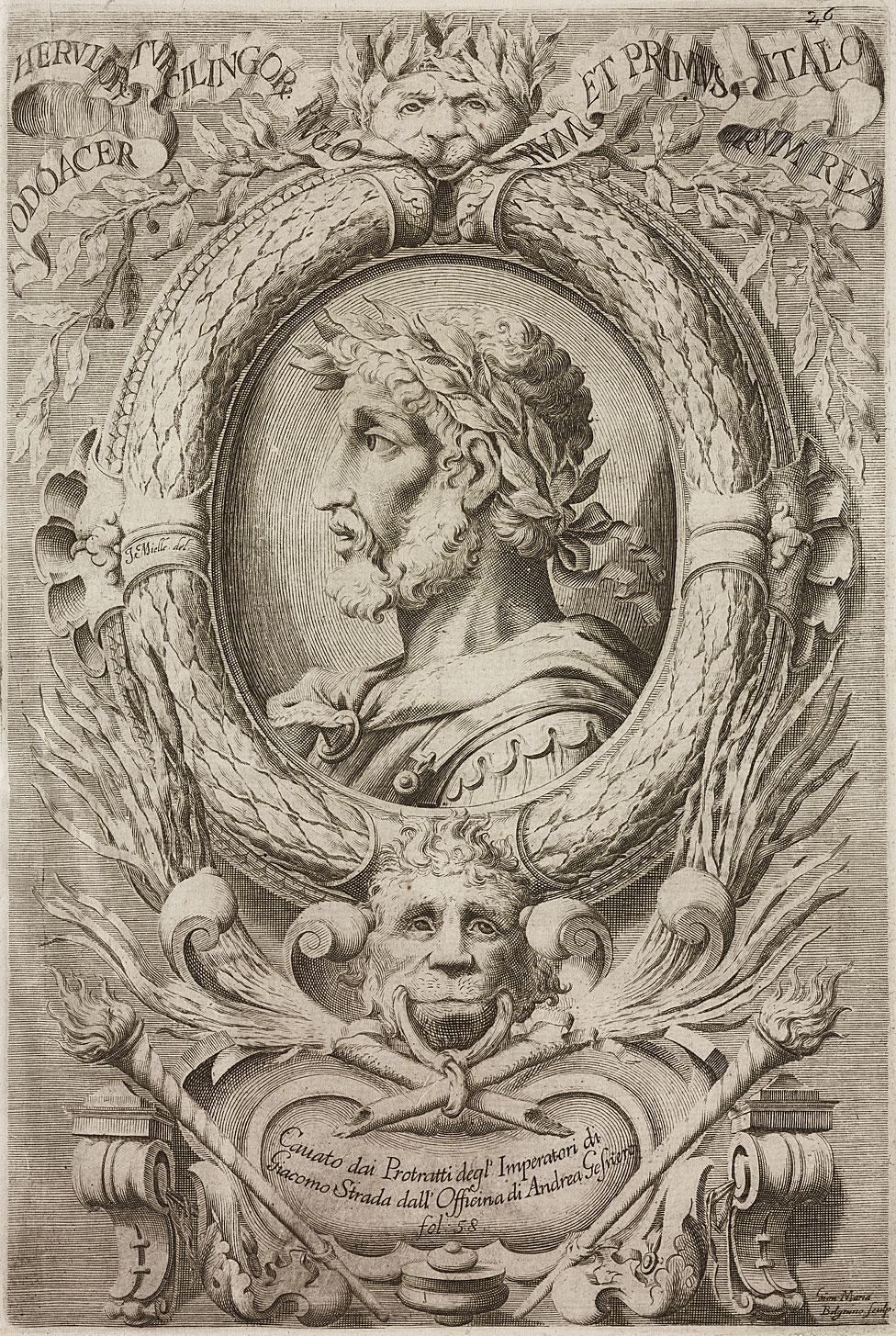 Retrato de Odoacro