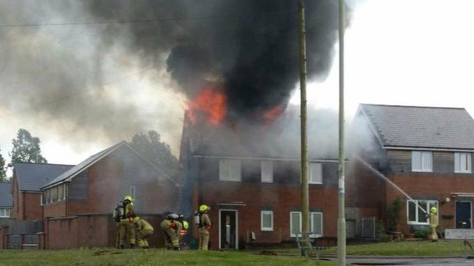 Alina Joseph's anguish over son's Hirwaun house fire call