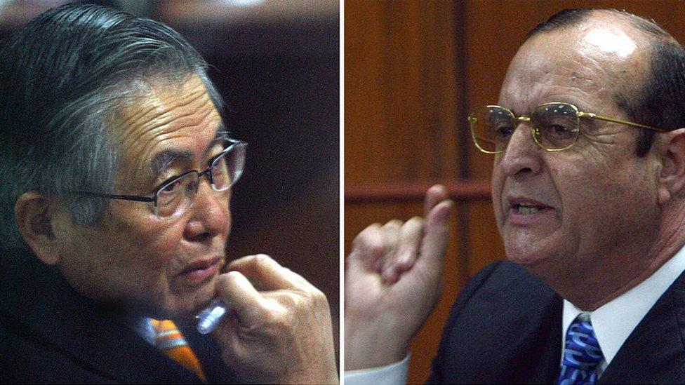 Fujimori y Montesinos.
