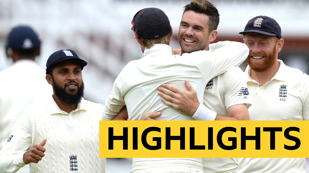 Watch highlights from day four of the second Test as England clinch victory over India