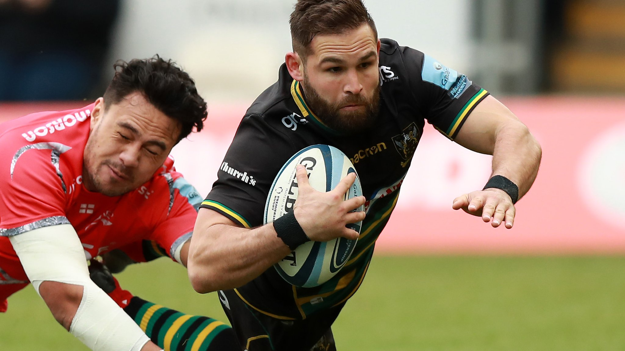 Premiership: Northampton Saints 67-17 Sale Sharks