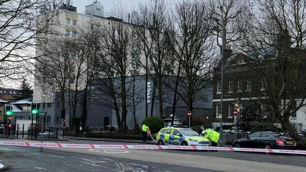 Woman hit by police car in Walthamstow dies